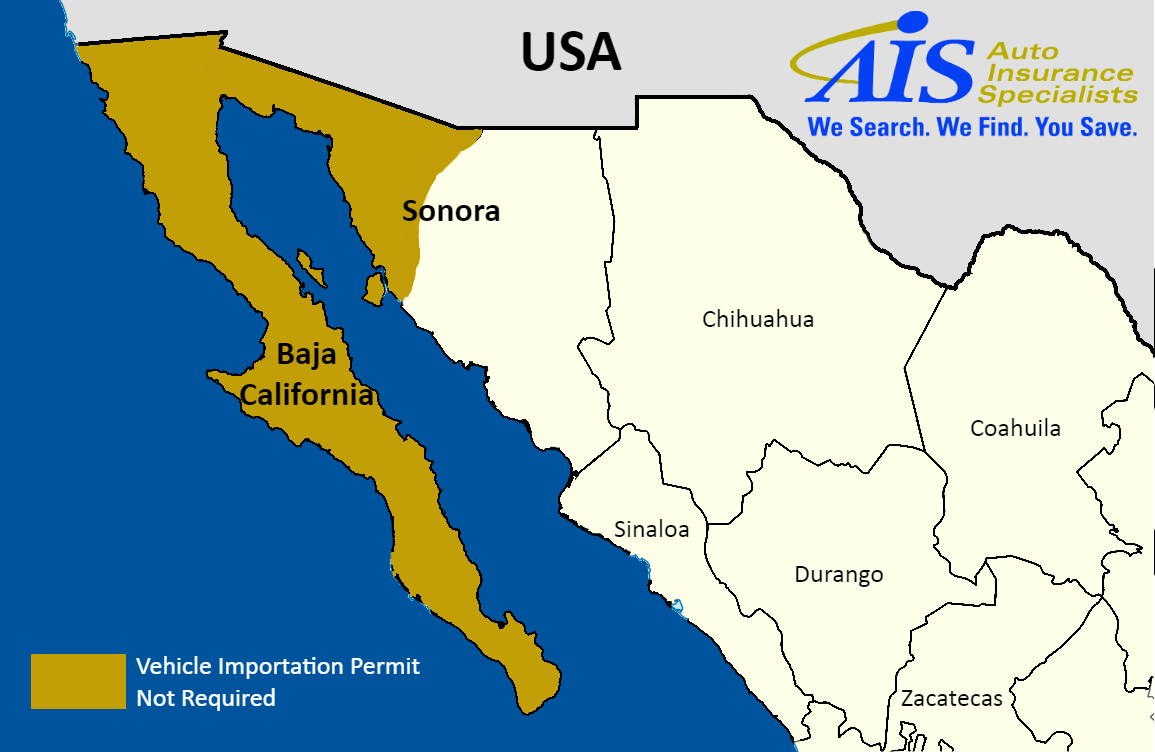 Mexico Auto Insurance Coverage Ais Auto Insurance Specialists