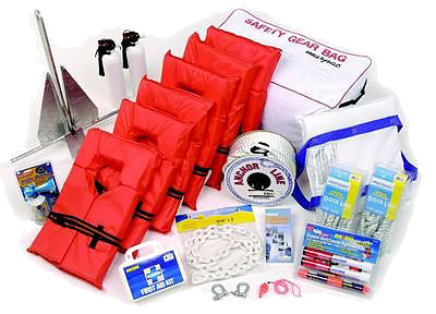 Boat insurance - boat safety kit