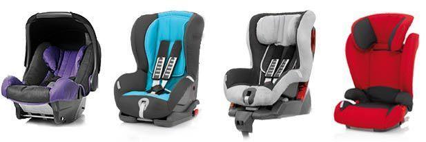 Car Seats Types