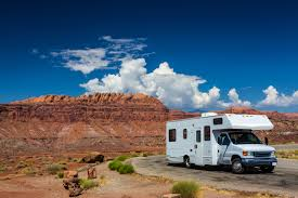 RV Insurance - RV parked in the canyon