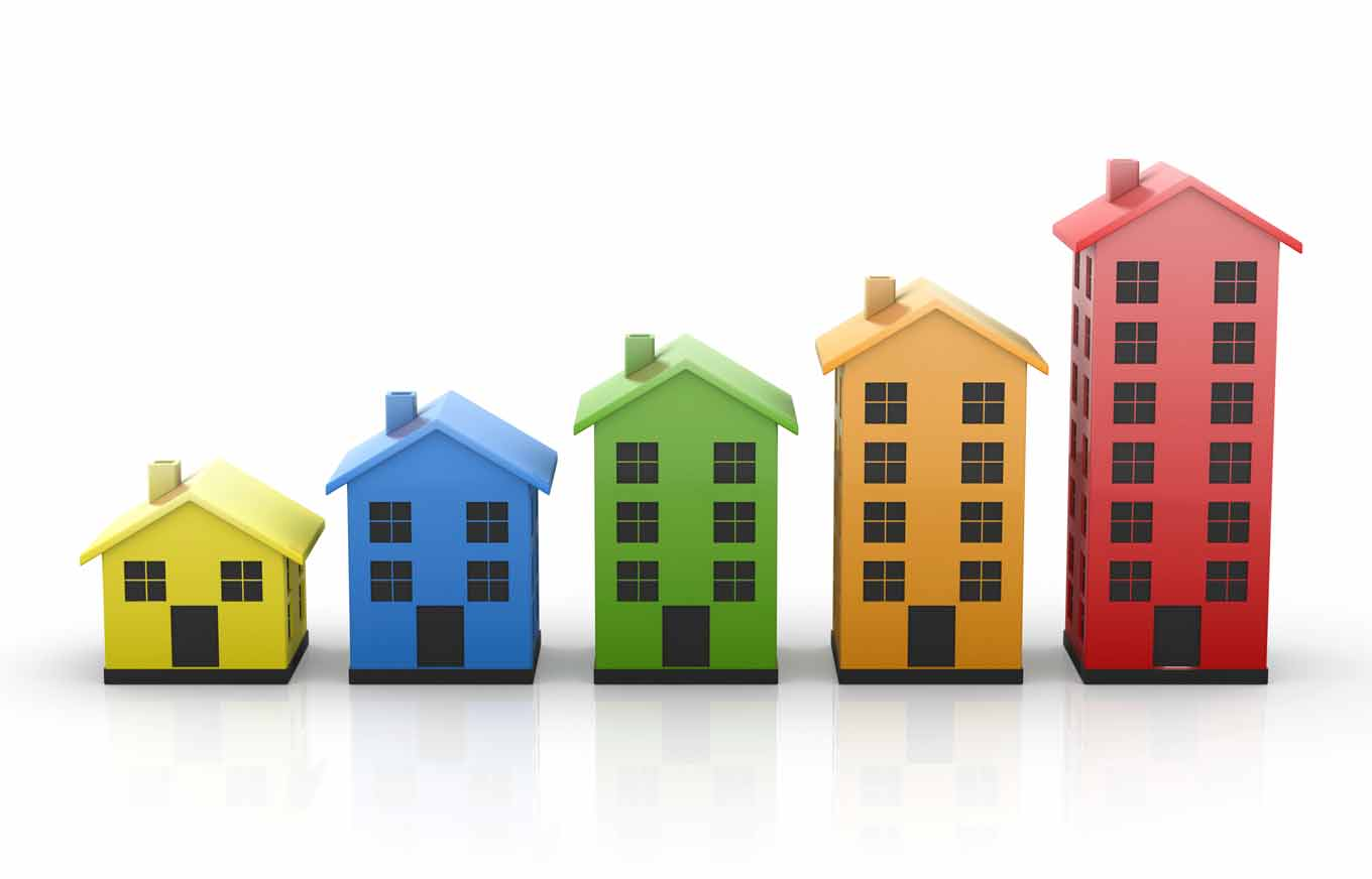 Investment Property Insurance - colorful houses