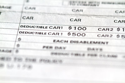 Guide To Deductibles And California Car Insurance
