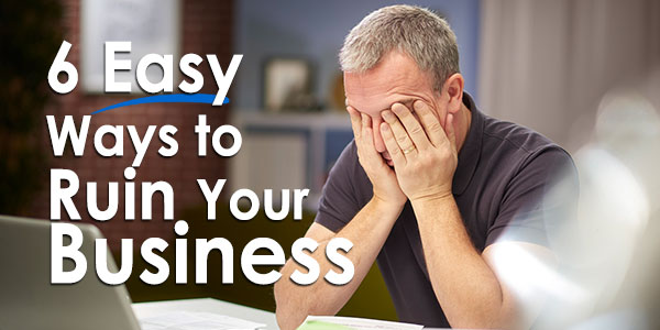 frustrated business owner