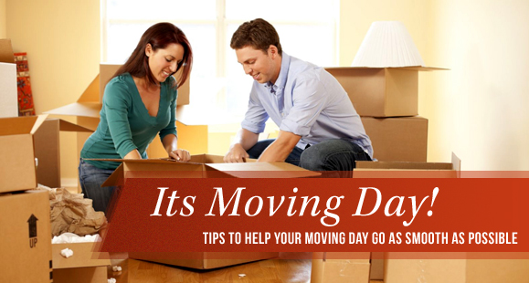 Helpful Moving Day Tips