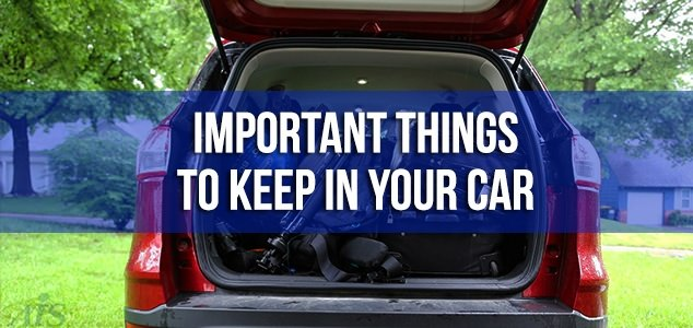 Safety Items to Keep in The Car