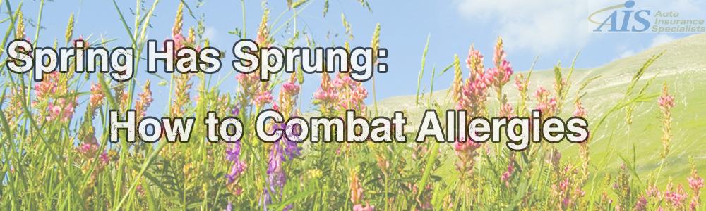 How to Combat Spring Allergies
