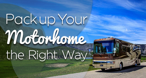 How to Pack Your RV the Right Way