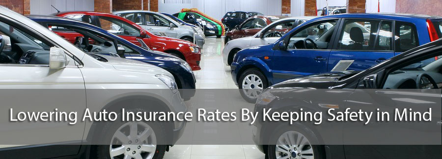 Lowering Auto Insurance Rates- car dealership
