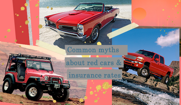 Common Myths About Red Cars and Auto Insurance
