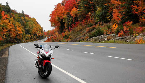 Top 9 Motorcycle Rides with the Best Fall Foliage