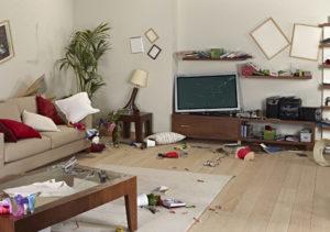 homeowners insurance - break in