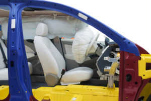 car safety airbag test