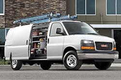 fleet vehicle GMC-Savana-Cargo