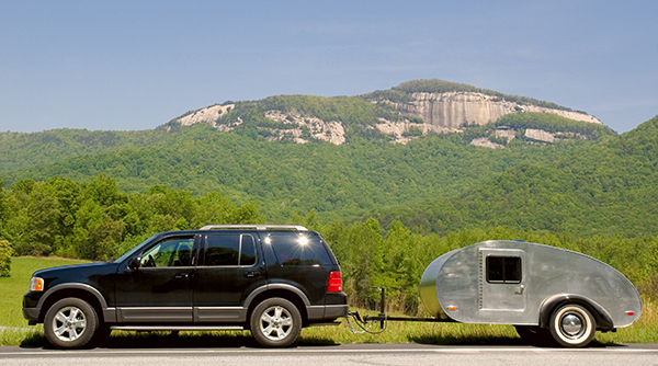 my SUV tow teardrop trailer