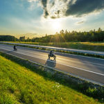 summer motorcycle road trip
