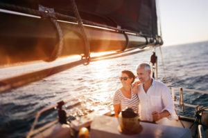 couple on boat insurance