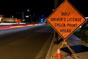 DUI charges dui checkpoint