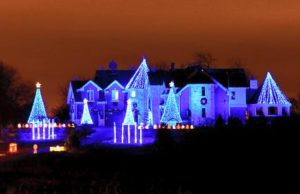 larsen light show christmas light displays
