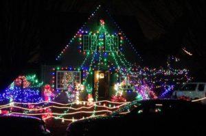 oregon christmas light displays