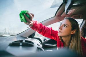 sanitizing your car