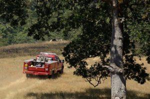 wildland fire truck