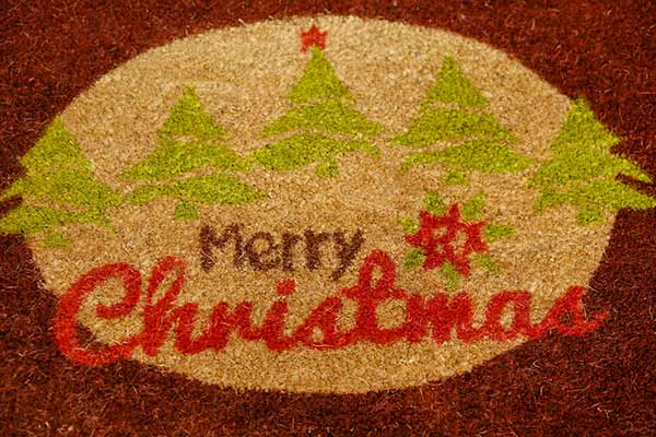 doormat for holidays