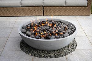 gel-fueled fireplace