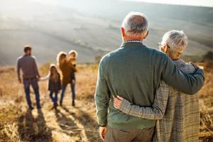 senior couple enjoying life and retirement