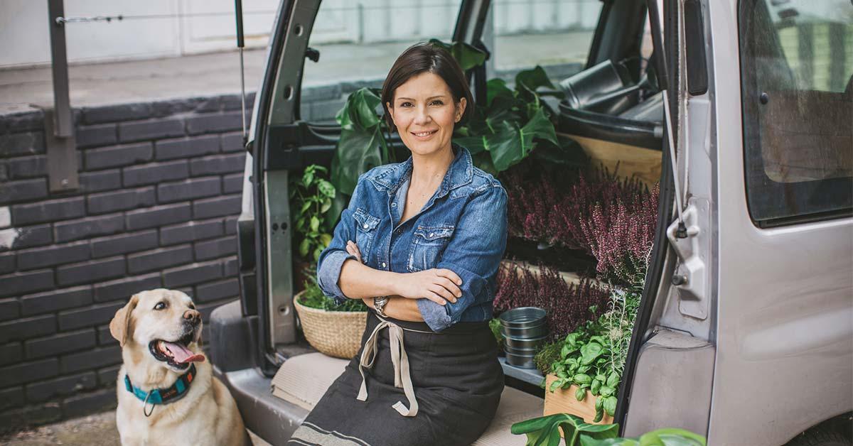 business woman-Business Auto Insurance