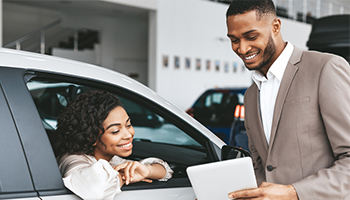 car dealership rental