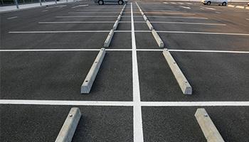 empty car lot