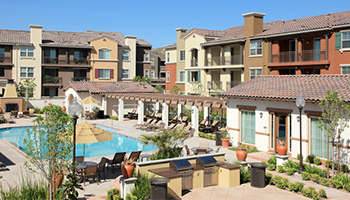 condos with swimming pool and bbq