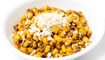 sauteed corn with feta
