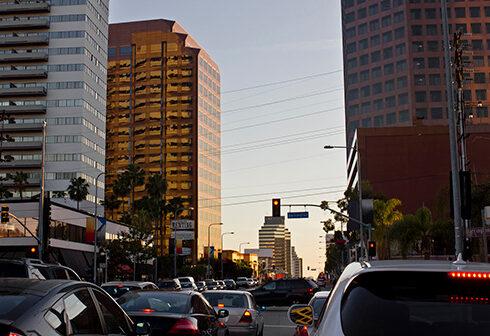 gridlock traffic los angeles